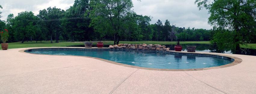 inground pool builders montgomery, tx