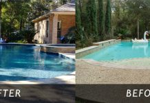 SWIMMING POOL REMODELING MONTGOMERY COUNTY, CONROE, TX