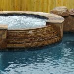 add spa hot-tub to new existing swimming pools