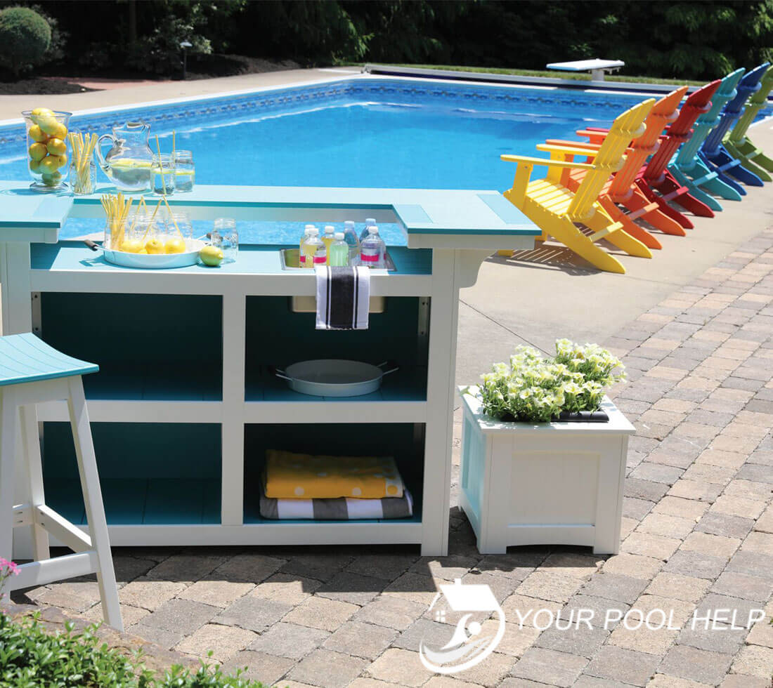 best salt water resistant pool furniture