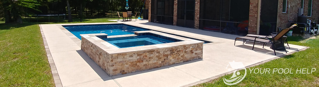 Adding A Spa To Your Pool Your Swimming Pool Help