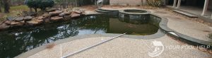 how to clean a green pool like a pond