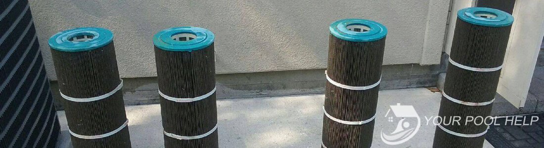 how to clean dirty swimming pool filters