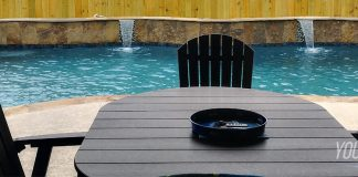 best patio furniture for salt water swimming pools