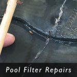 swimming pool filter parts and repair