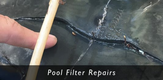 swimming pool filter parts and repair