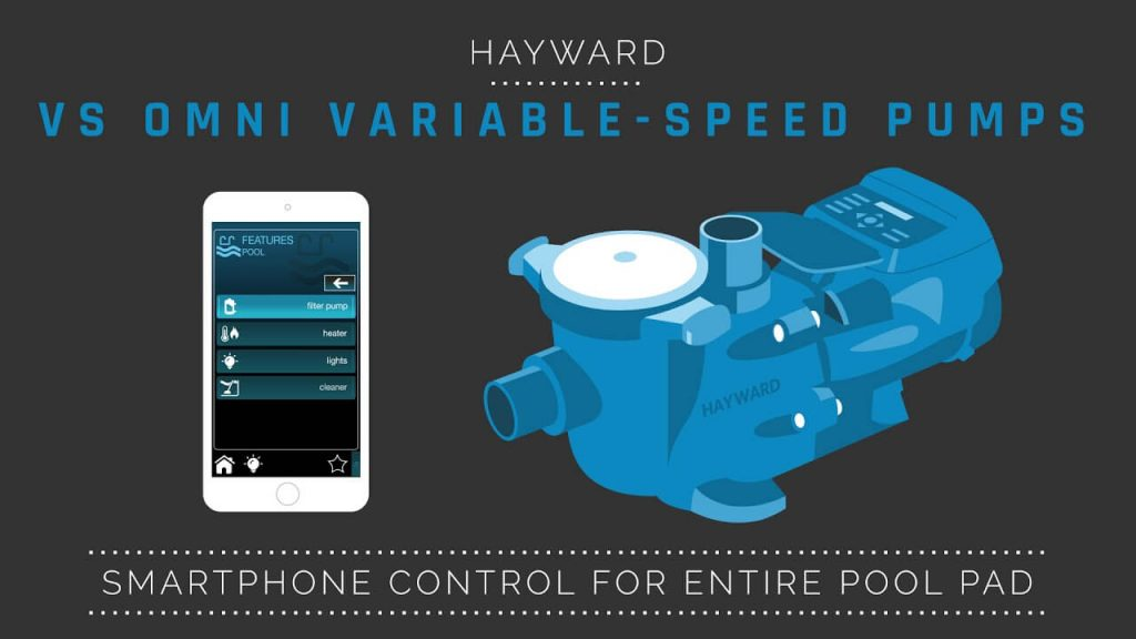 Hayward Omni VS pool pump and control system 2 1