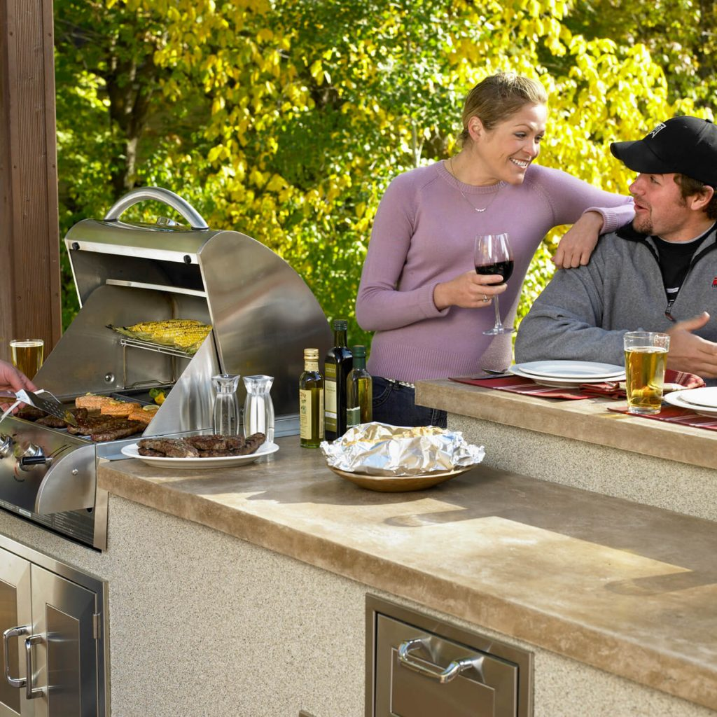 outdoor kitchen living san antonio tx