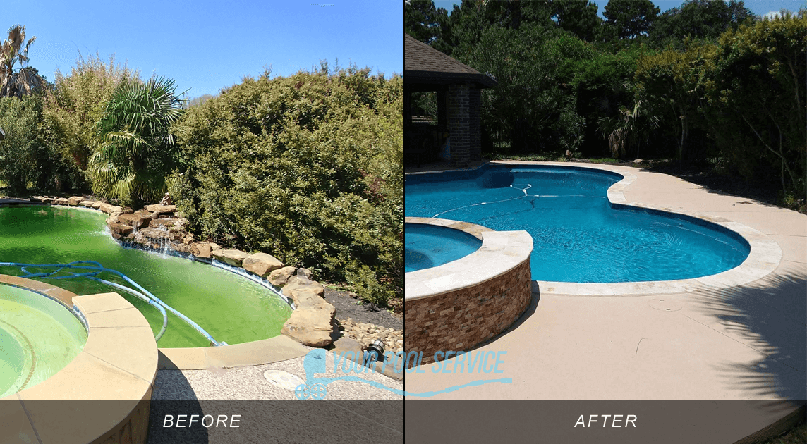 swimming pool remodeling before after photos