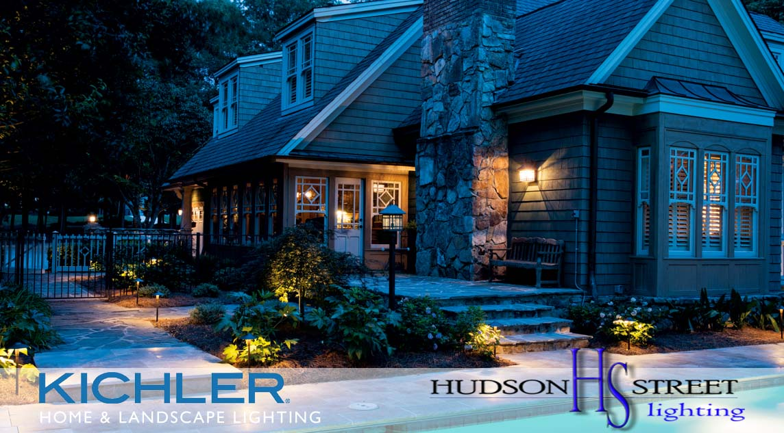 led exterior custom home lighting company in