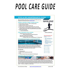 swimming pool maintenance care guide pdf