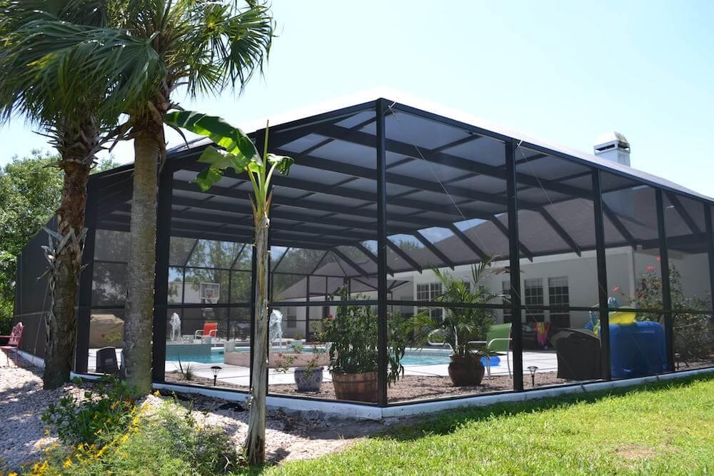 screen swimming pool enclosures