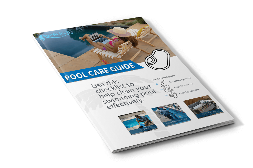 Swiming Pool Care PDF Guide Cover