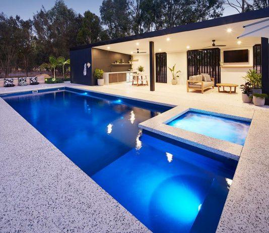 fiberglass pool design idea