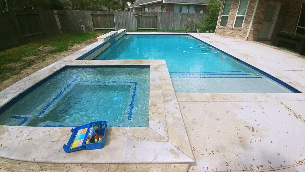 Check the pool water quality